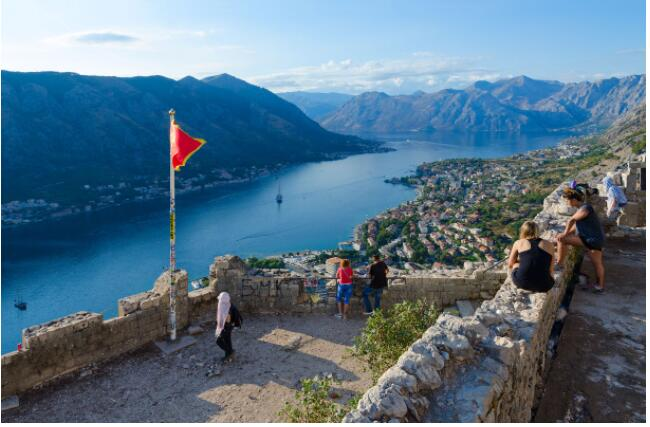 The mountains of Kotor