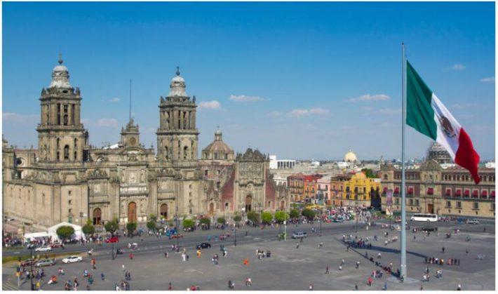 Mexico City and Puebla